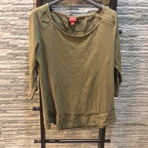 Merona 3/4 Length Sleeve Shirt